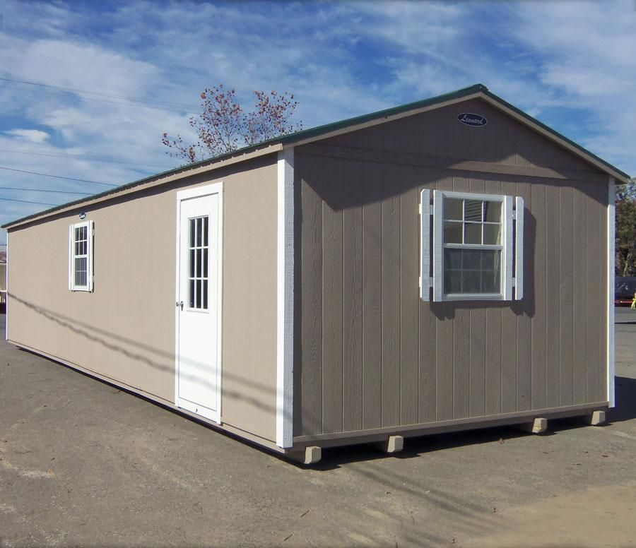 Attrayant B STND 1440 099 Custom 14x 40 Protable Building Painted Tan