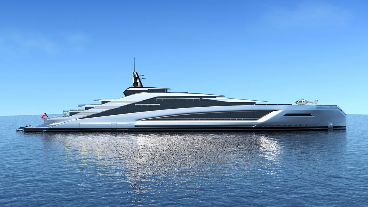 The Most Extreme Superyacht Concepts In The World Yacht Design
