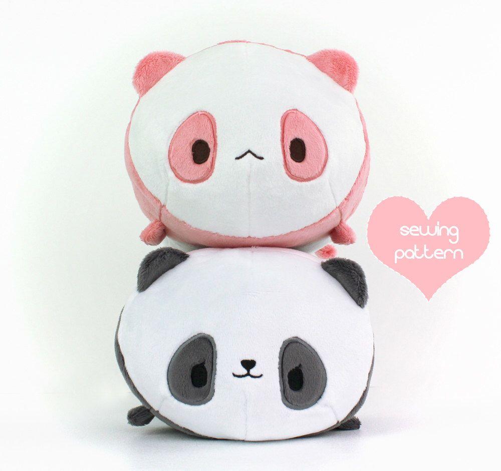 Fashion style Plush Panda pattern for girls