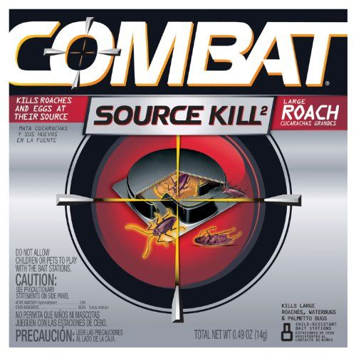 Combat 41913CT Source Kill Large Roach Killing System ChildResistant Disc 8PK 12 PKCT ** To view further for this item, visit the image link.