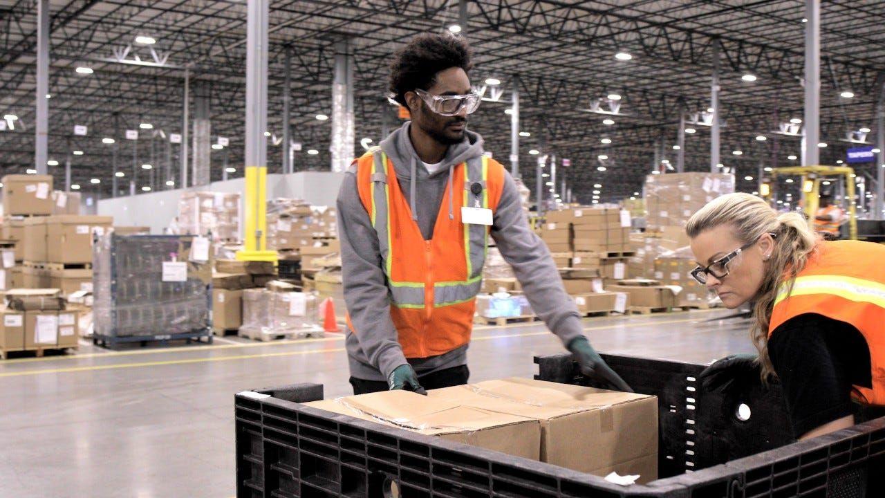 Gm Opens 65m Parts Processing Center Keeping Jobs Near Flint