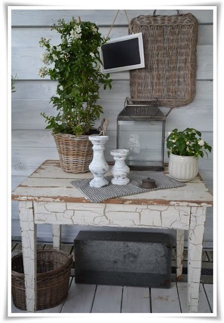 frau k shabby chic dekotipp garden back patio ideas pinterest sch ne deko deko und balkon. Black Bedroom Furniture Sets. Home Design Ideas