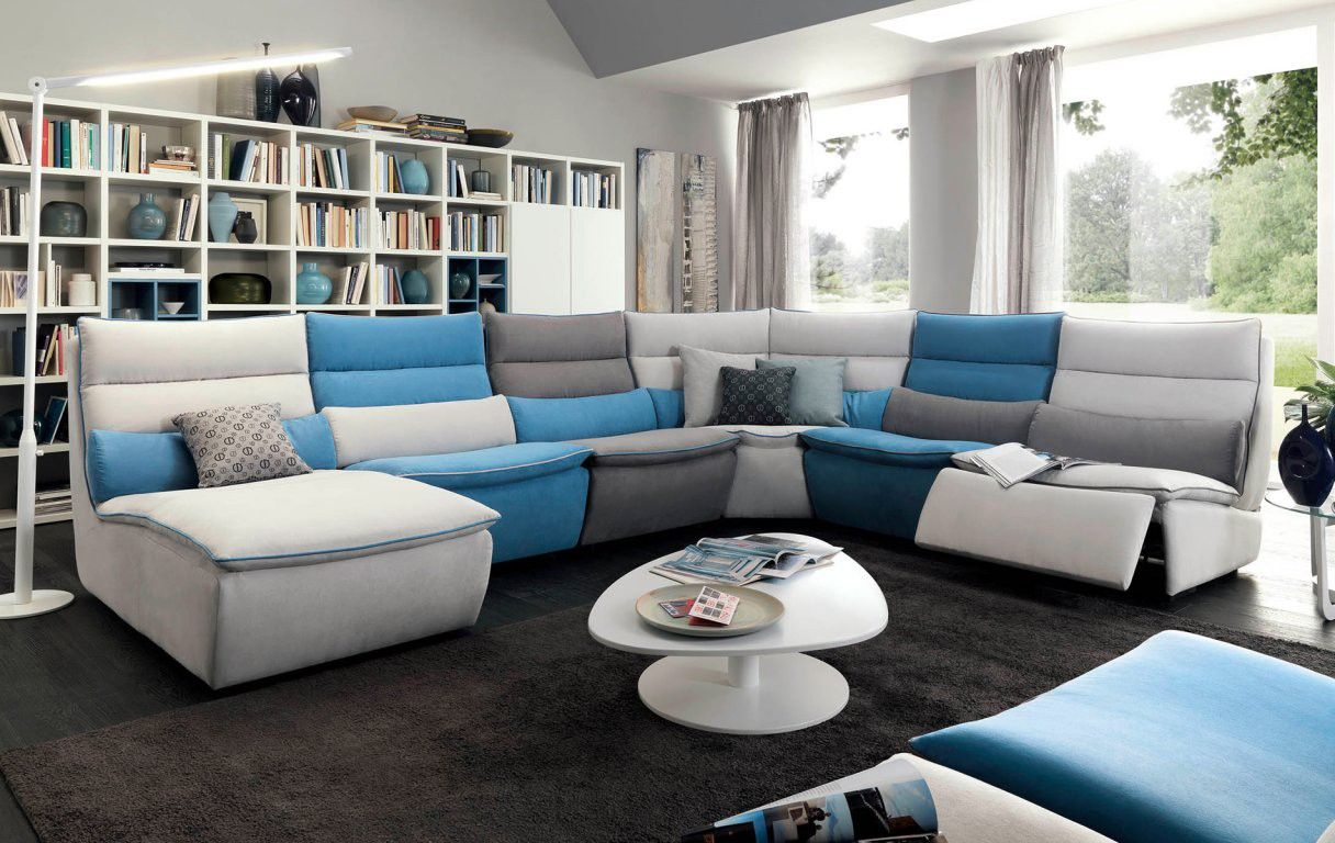 Divano Modulare Chateau D'ax Festival Sectional By Chateau D Ax Italy Shown In Fabric Visit
