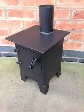 narrowboat stove / bell tent stove / small wood burner / log burner ...