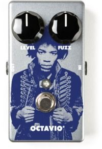 Dunlop JHM6 Jimi Hendrix Octavio Fuzz Electric Guitar Pedal (Silver)