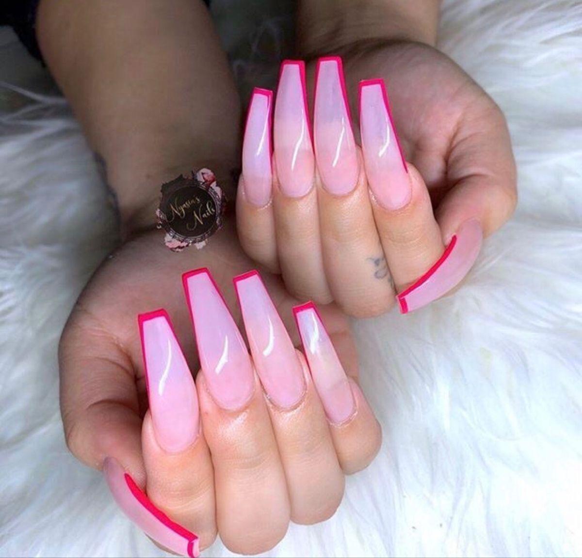 Pin on Pretty acrylic nails   Pretty nail colors, Pretty