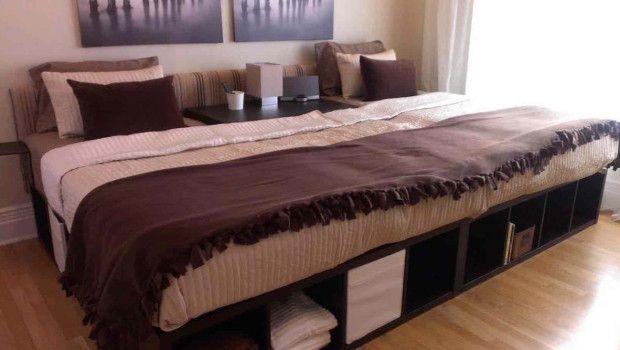 Aus Kallax Regalen Einfach Selber Machen Mit Bildern Familien Bett Kallax Bett Familienbett