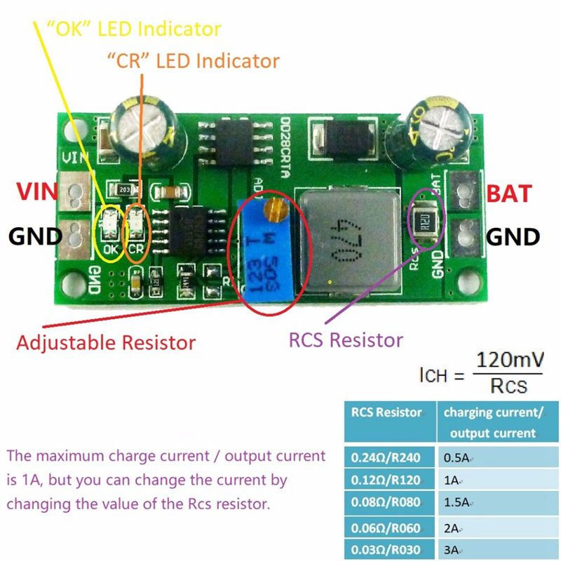 Pin Op Lithium Battery Protection Board