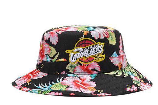 NBA Cleveland Cavaliers Bucket Hats Flower  0411ffd81c5