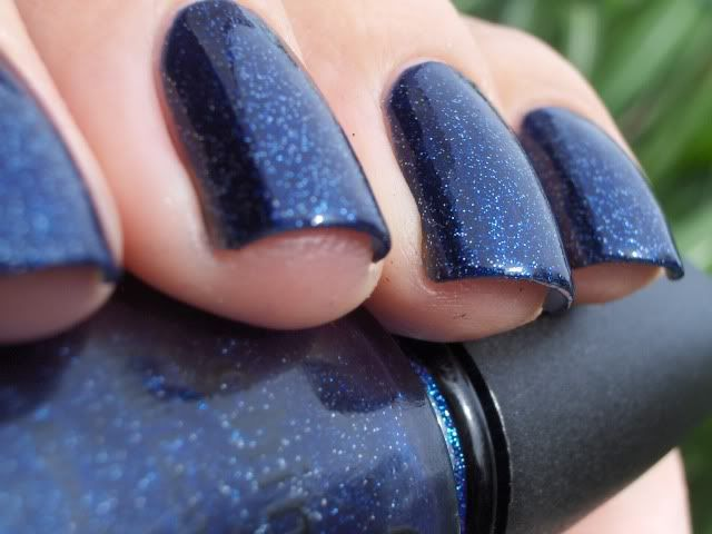 Dark Blue Sparkles Nails Nails Dark Blue Nails Blue