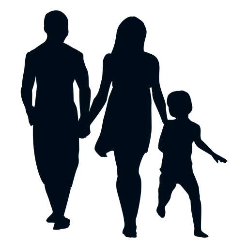 Family With Child Silhouette Png Image Download As Svg Vector Transparent Png Eps Or Psd Use This Family With C Silhouette Png Silhouette Svg Graphic Image