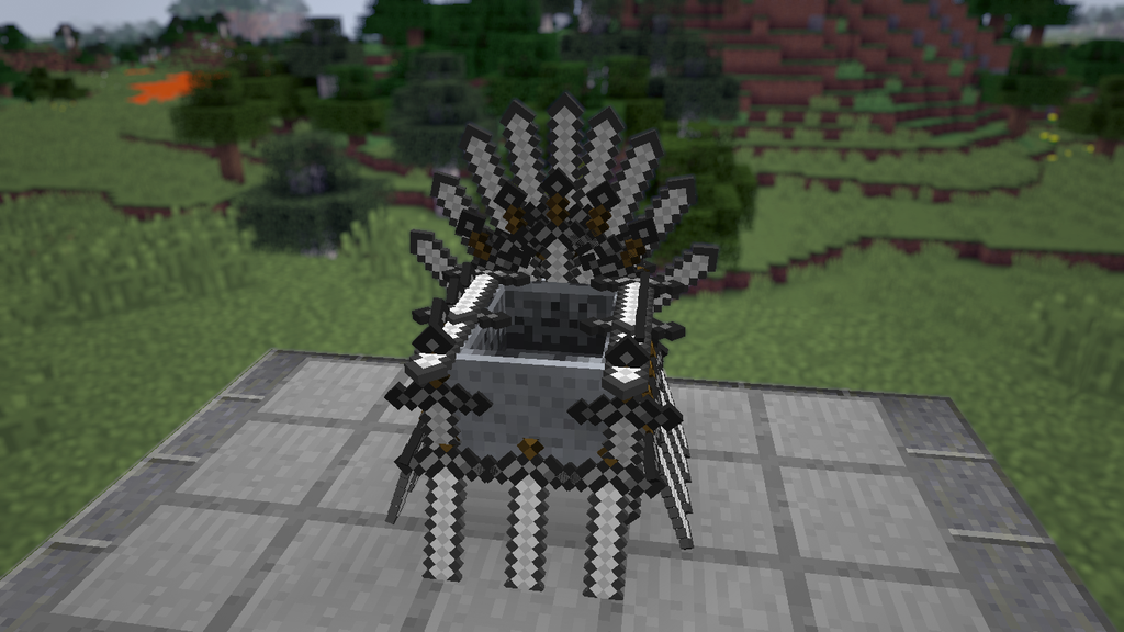 The Minecraft Iron Throne from Game of Thrones    Minecraft