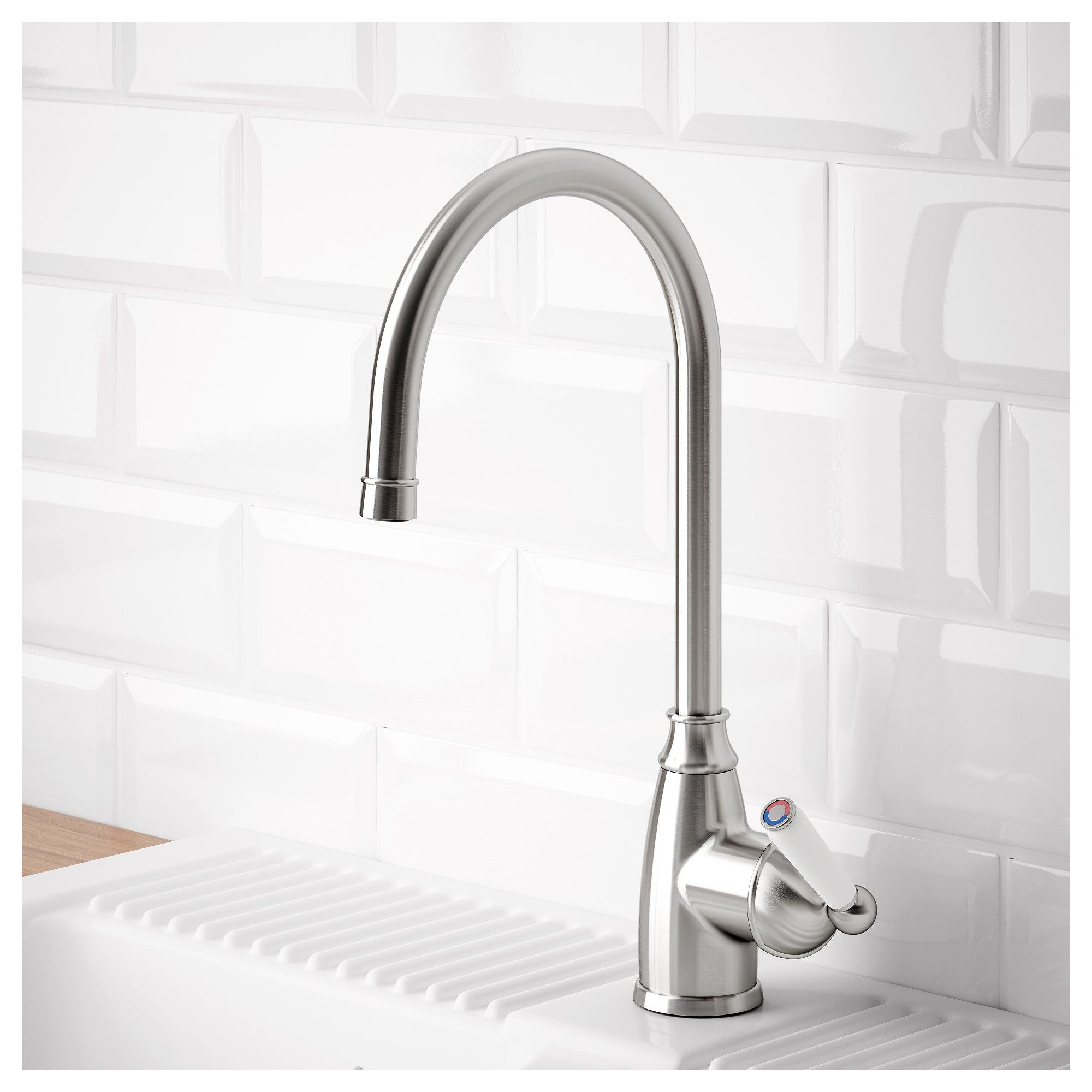 Ikea Küchenarmatur Ikea Elverdam Kitchen Faucet Stainless Steel Color