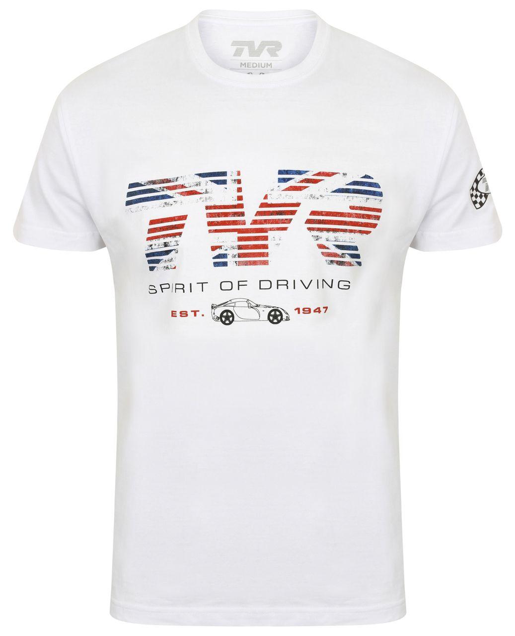 Spirit of Driving Mens TVR T-Shirt Official Merchandise