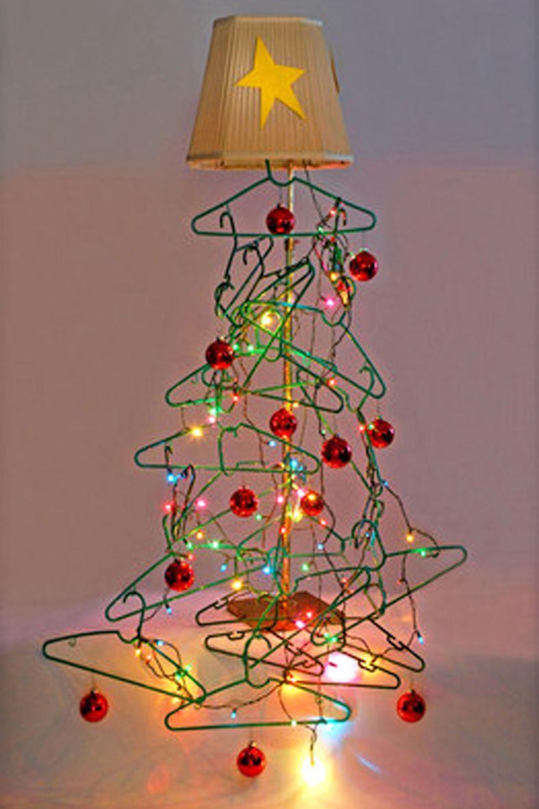 Como no hay dos sin tres despedimos las navidades 2014 - Arboles de navidad creativos ...