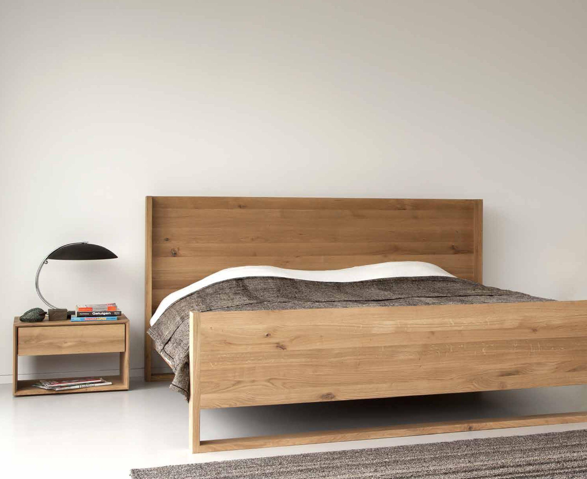 Oak Wood Bed By Ethnicraft Natural Beauty Nordik Design