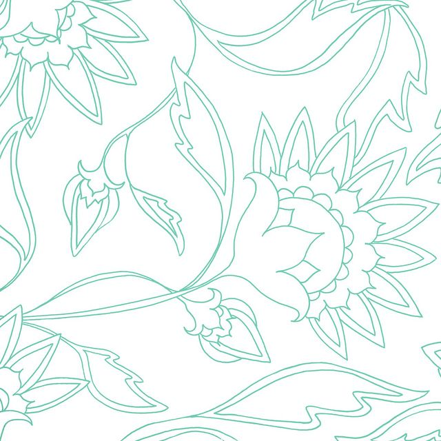 large scale FLOWER DOODLE (free papers \ overlay) 125 - lines paper