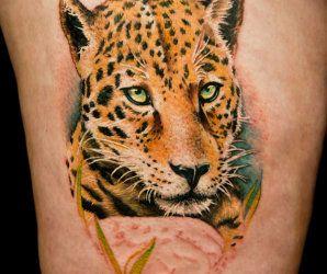 Animal Tattoo By Tatu Baby Leopard Tattoos Cheetah Print