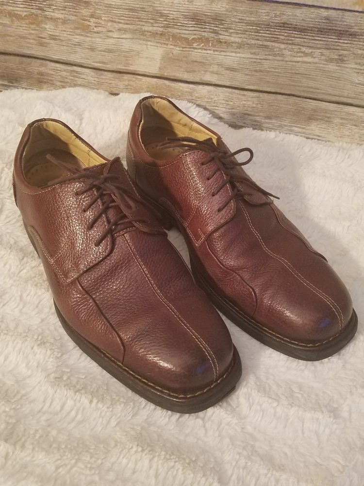 ce470f6553 Studio Belvedere Bay Bridge Brown Dress Casual Shoes Cushioned - Size 9 EEE  Wide   Clothing, Shoes & Accessories, Men's Shoes, Casual   eBay!