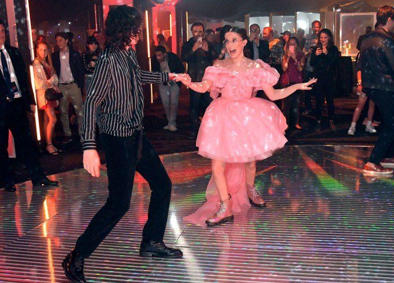 Céline Dion Shows Off Her Legs in Paris, Plus Meghan Markle, the Stranger Things Cast & More