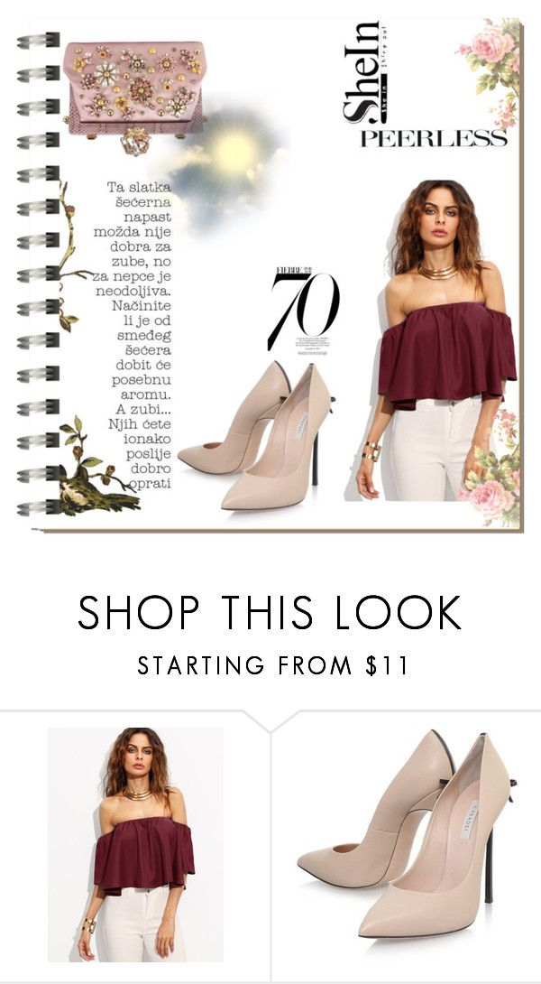 """Untitled #38"" by t-shirt-i ❤ liked on Polyvore featuring Koo, Casadei, Dolce&Gabbana and Nico"