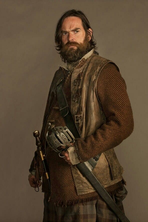 Murtagh // #OutlanderSeries #Outlander