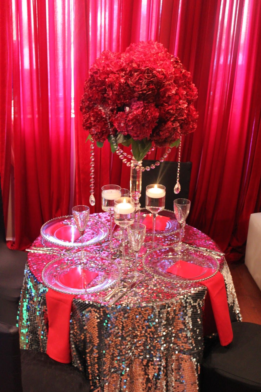 tall red rose wedding centerpieces | bridal style and wedding ideas ...
