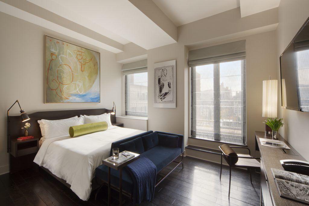 Custom Casegoods And Seating At The Marmara Park Ave, NYC Custom Furniture  For Hospitality Custom