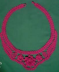 Image Result For вязаные украшения на шею крючком схемы вязаные