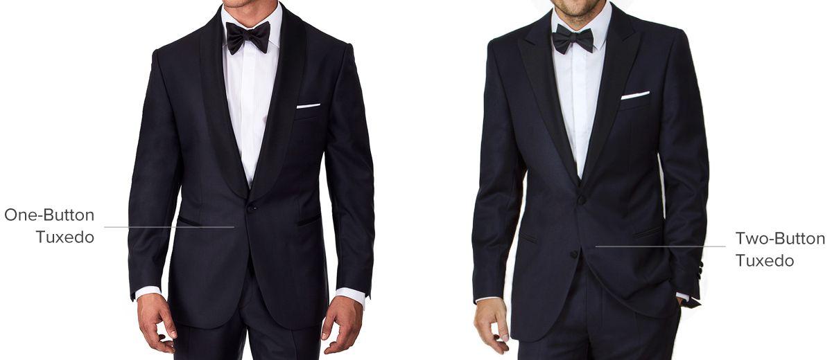 One-Button vs. Two-Button Tuxedos