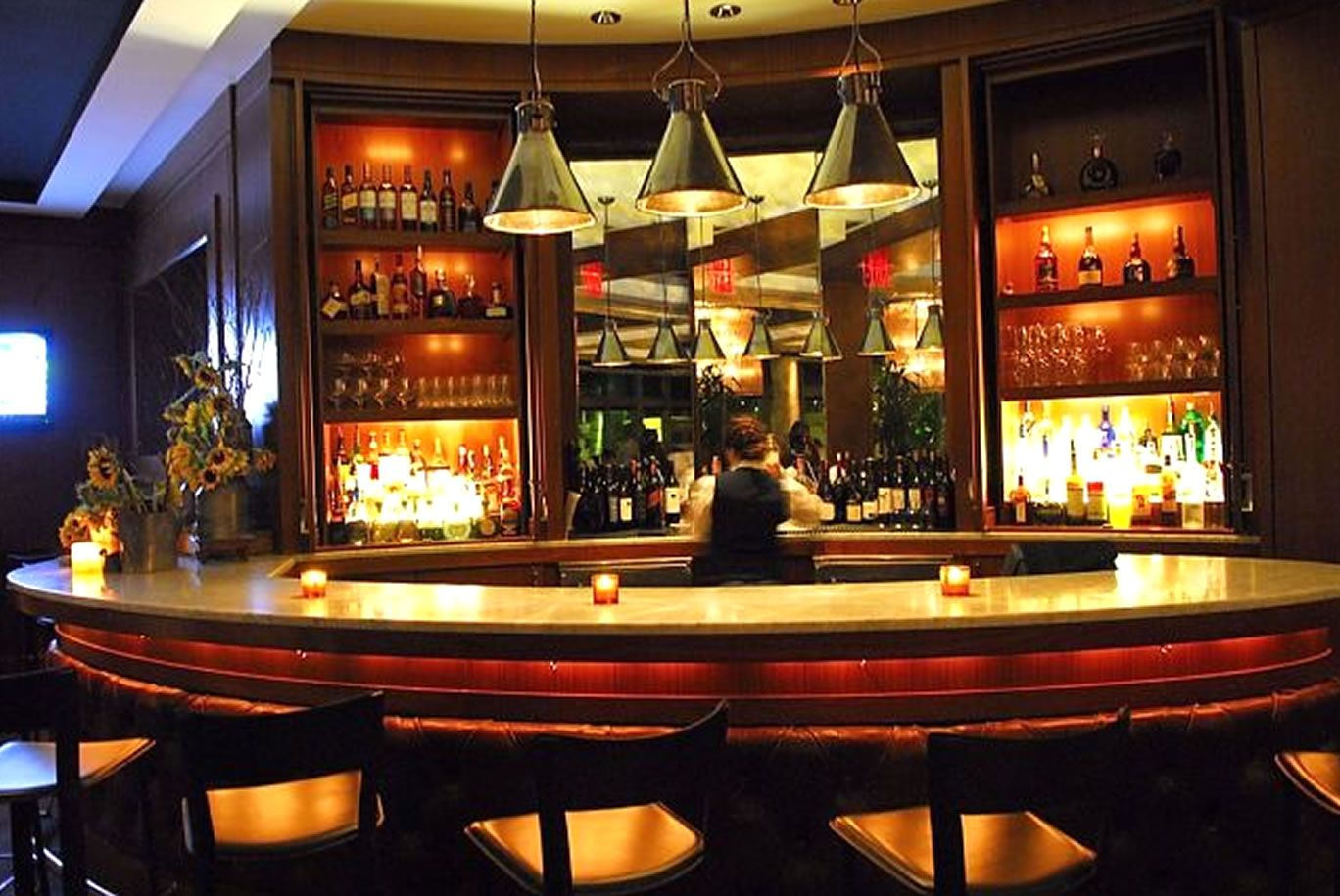 Furniture Restaurant Bar Design Ideas With Nice Pendant