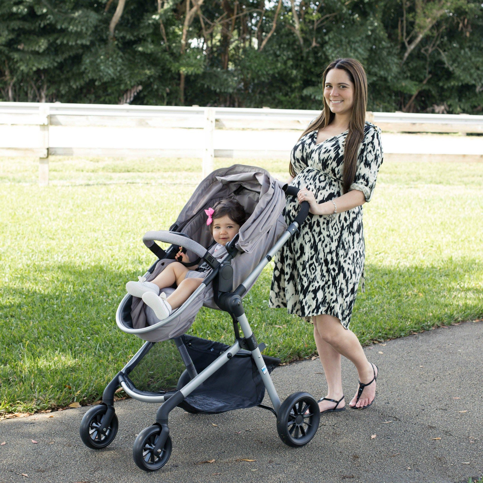Evenflo Pivot Travel System Review Laura & Co. baby