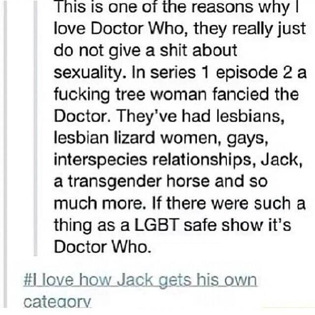 Omnisexual captain jack