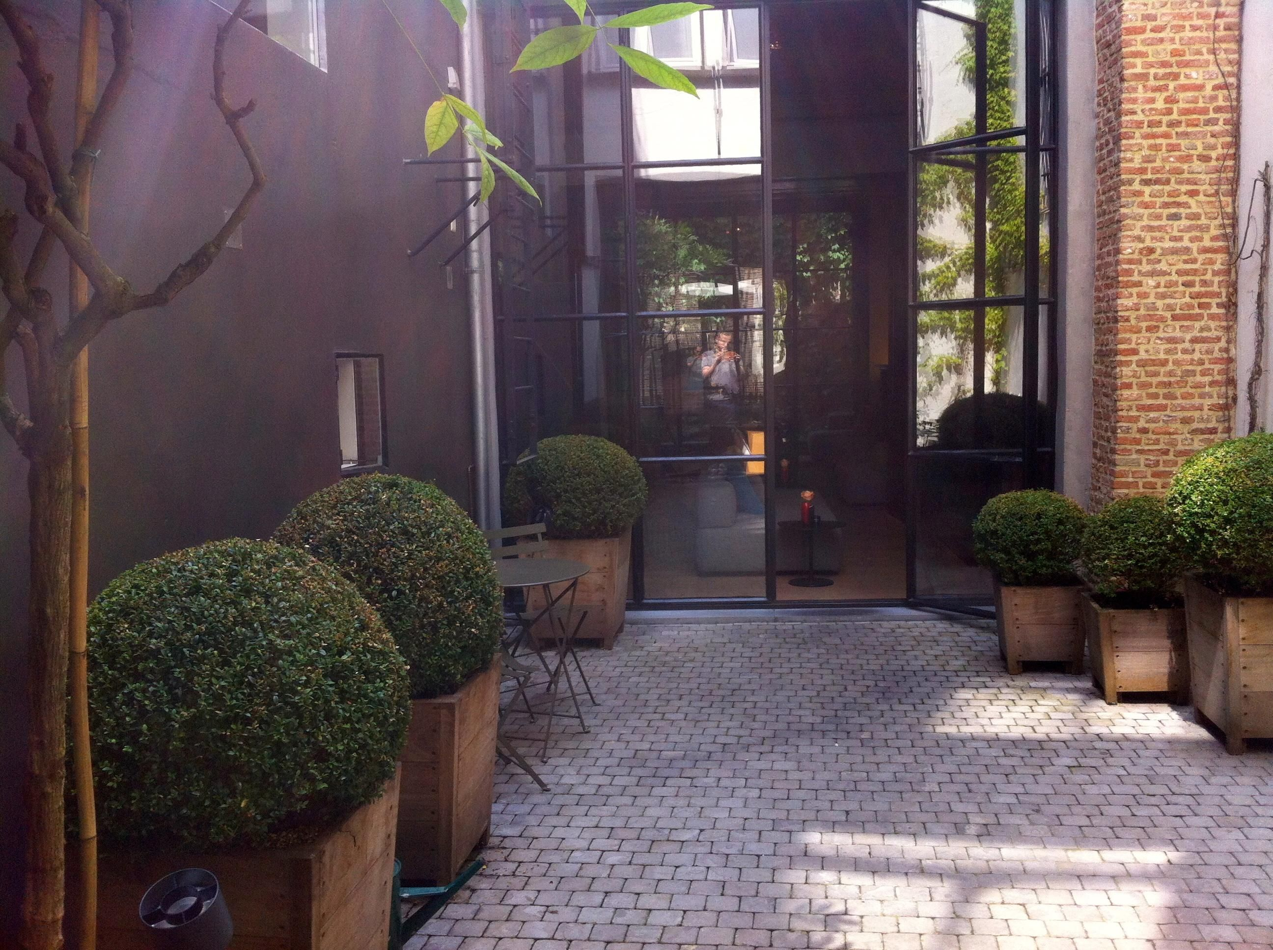 Hotel Julien Modern Backyard Trip Advisor Antwerp