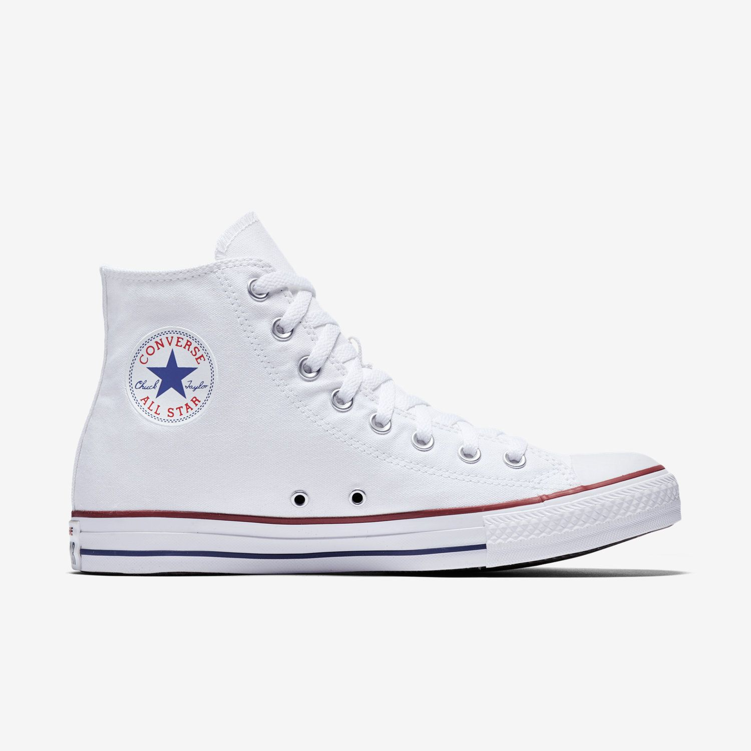 Converse lo i Top Taglia 8 Borgogna Bianco Dark Red/PORTA All Stars