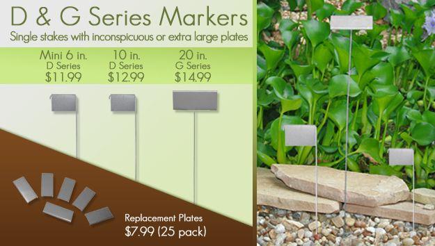 D U0026 G Series Metal Garden Markers