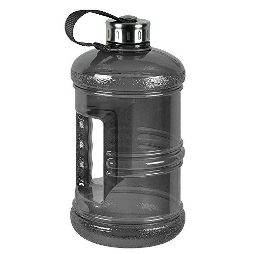 3 Liter Bpa Free Reusable Plastic Drinking Water Bottle Jug Container W Hand Holder Canteen And Stainless Ste Gallon Water Bottle Bottle Drinking Water Bottle