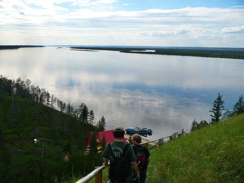 The Lena River is Russia's greatest river.