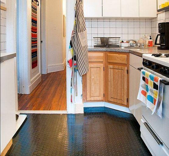 Temporary Kitchen Rubber Flooring Tiles Flooring Ideas Floor