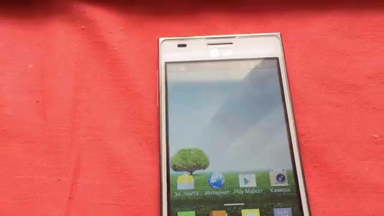 Прошивка телефона LG E615