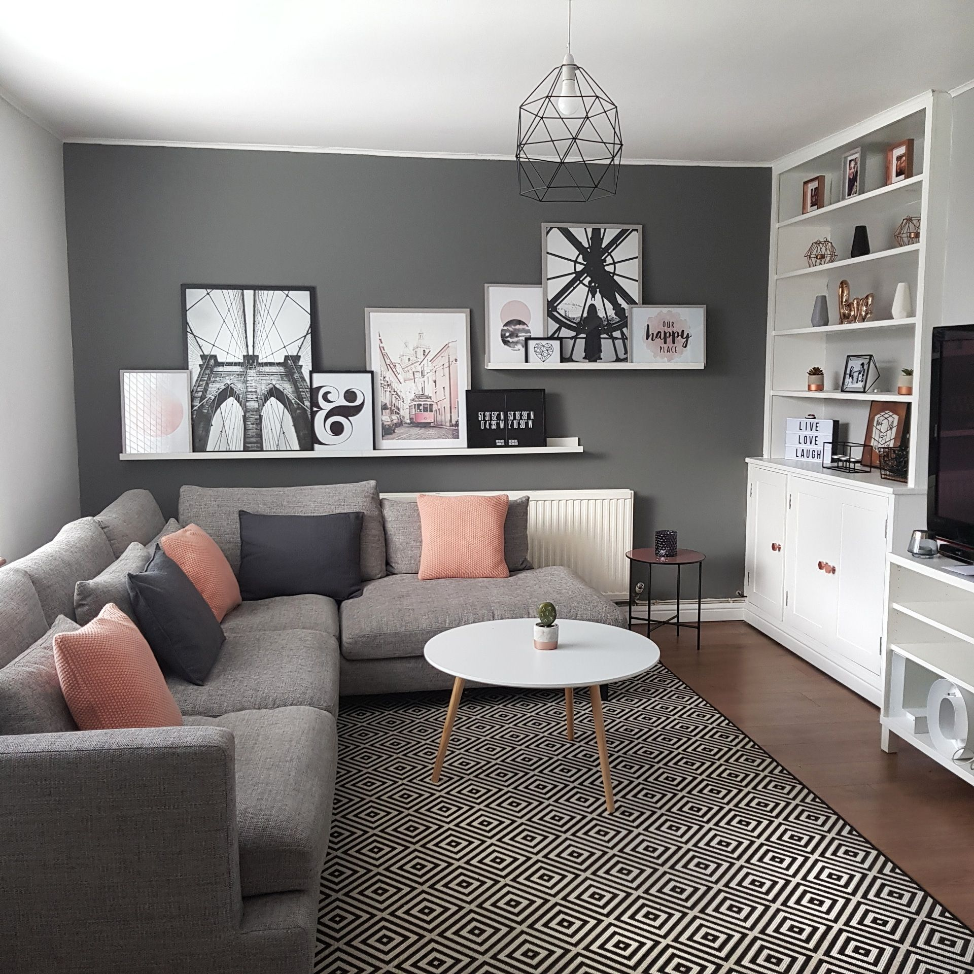 our scandi inspired living room in wilmslow cheshire