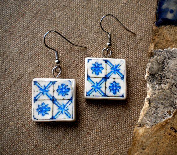 Portugal Tile Antique Replicas Blue see photos of actual by Atrio,