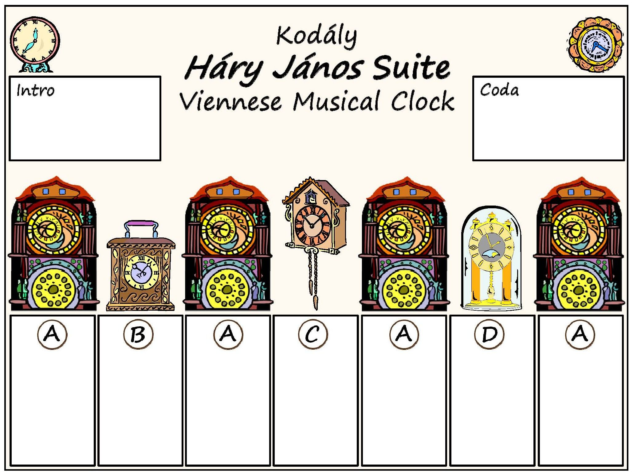 Image Result For Kodaly Viennese Musical Clock Sheet Music