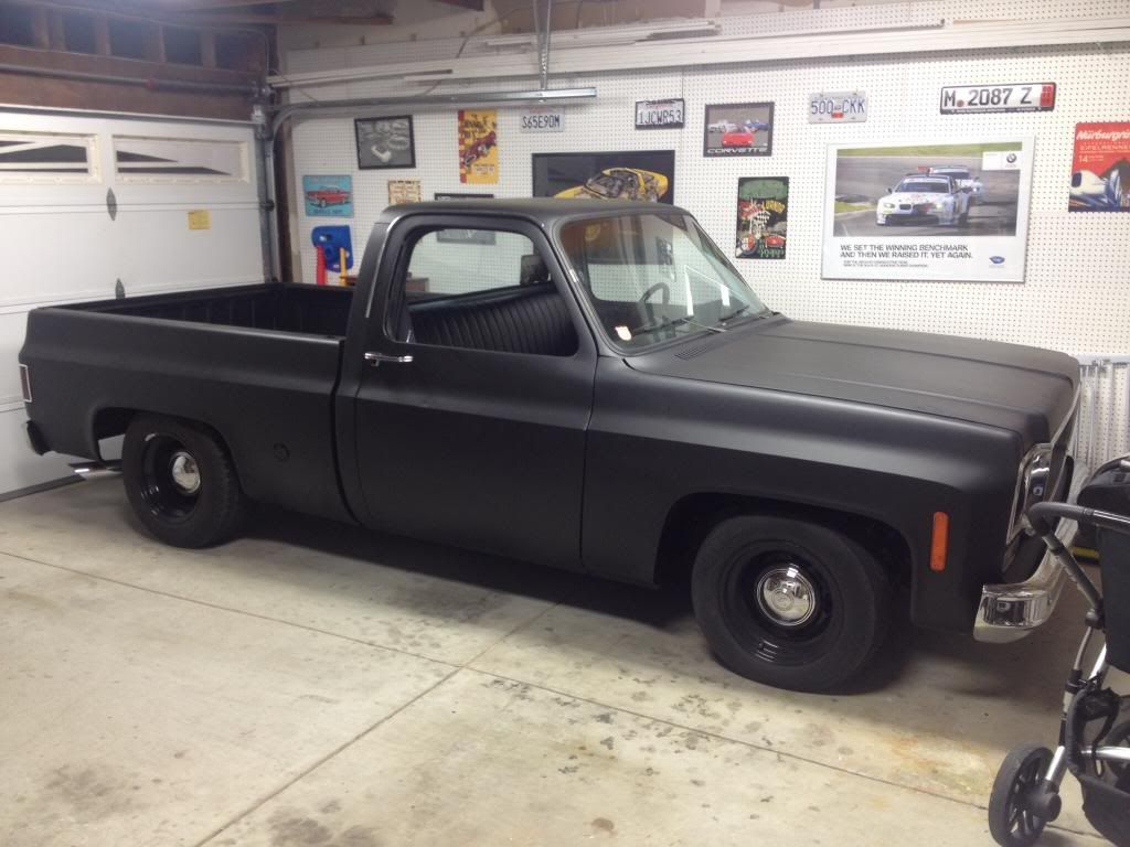 Truck chevy c10 project trucks : Project Cannonball C10 - The 1947 - Present Chevrolet & GMC Truck ...