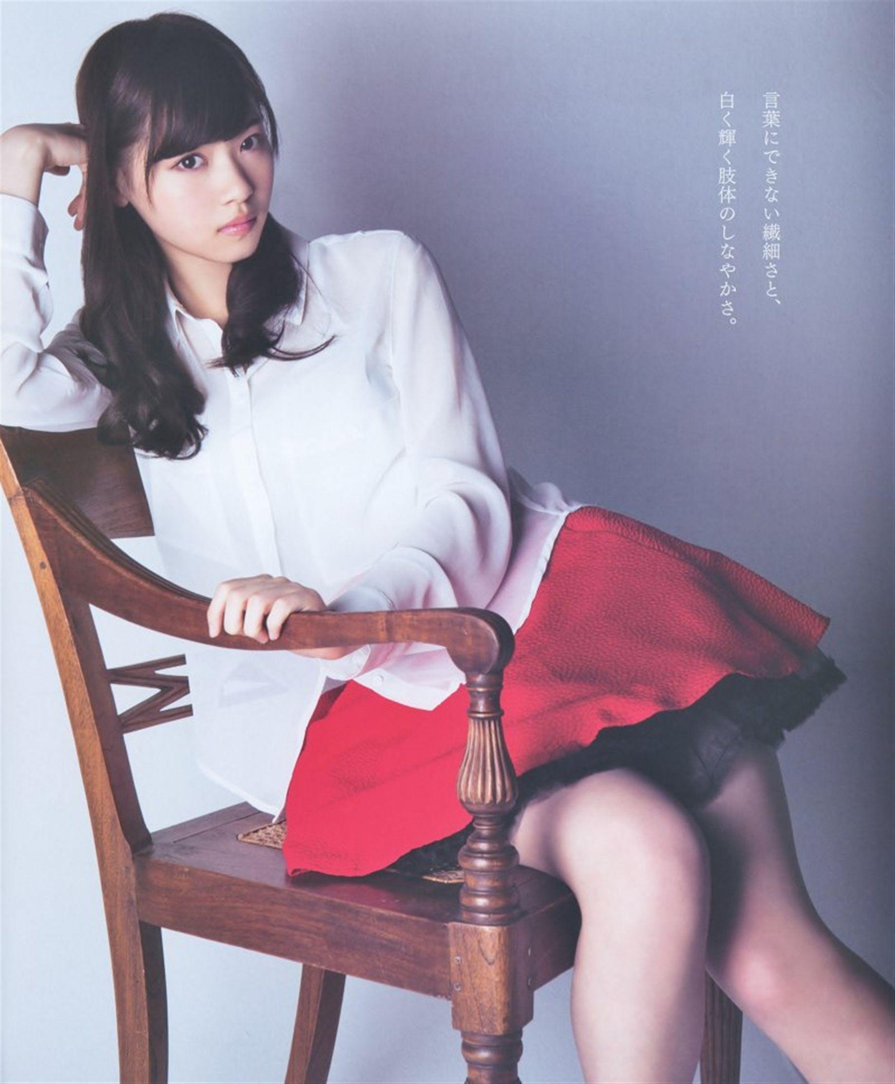 ミニスカート姿の西野七瀬さん