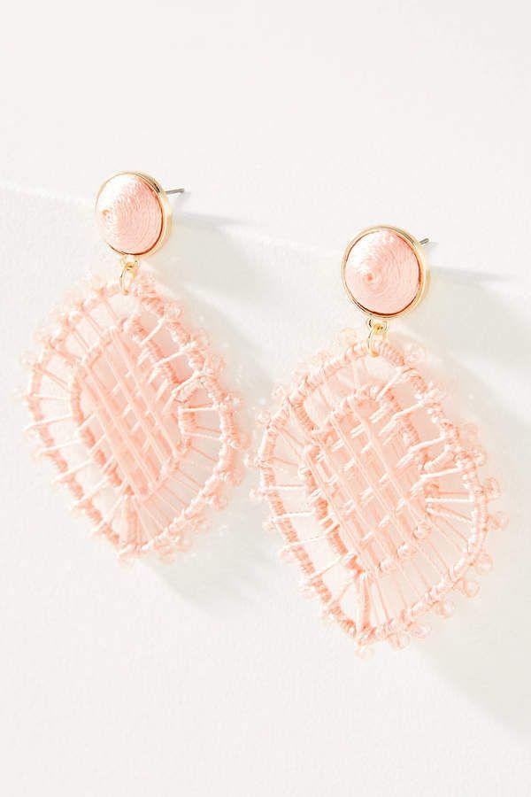 Baublebar Baublebar Beaded Drop Earrings Ad Anthrofave Anthroregistry Anthropologie Anthr Beaded Drop Earrings Drop Earrings Rose Gold Diamond Stud Earrings