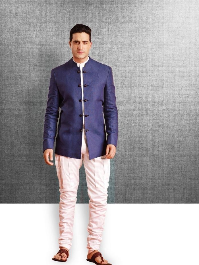 indian groom suit with bow - Google Search | men suit | Pinterest ...