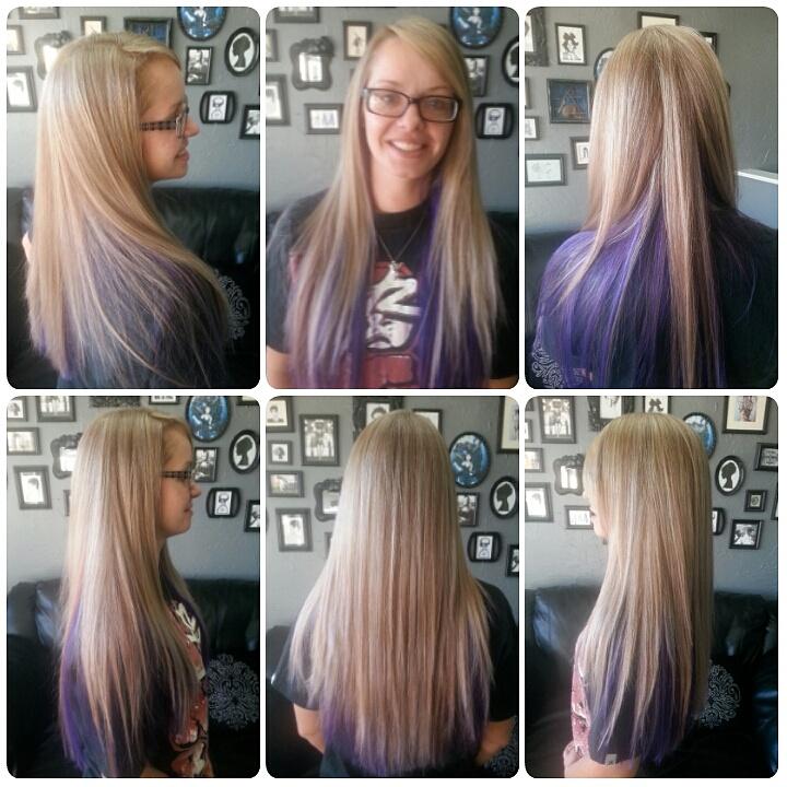 Pastel Purple Hair Hair Color Underneath Pravana Hair Color Pastel Purple Hair