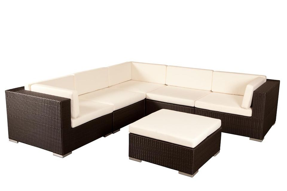 Havana Modular - Wicker Outdoor Furniture Setting - Sydney - gartenmobel weis rattan
