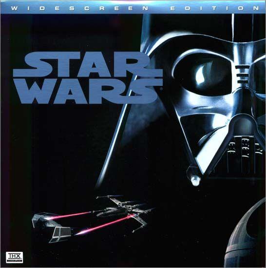 Star Wars 1977 1995 Laserdisc Front Cover 20th Century Fox